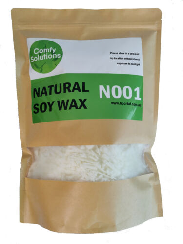 Natural Soy Wax  Candle Making Supplies Crafts [ 1kg ]