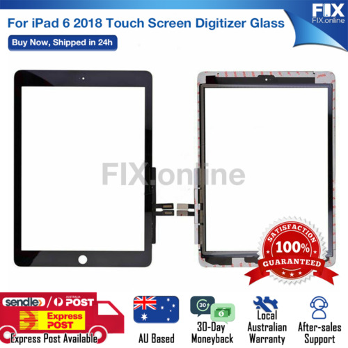 For iPad  6 2018 Digitizer Front Touch Screen Glass Replacement + Tools S