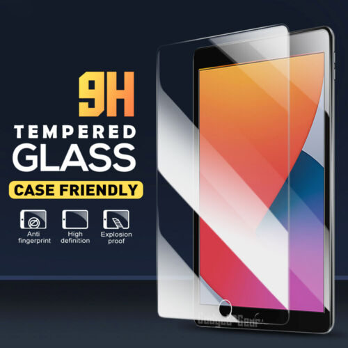 """For Apple iPad 8th Generation 10.2"""" 2020 Tempered Glass Screen Protector Guard"""