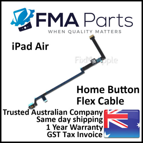 iPad Air OEM Genuine Home Button Key Ribbon Switch Flex Cable New Replacement