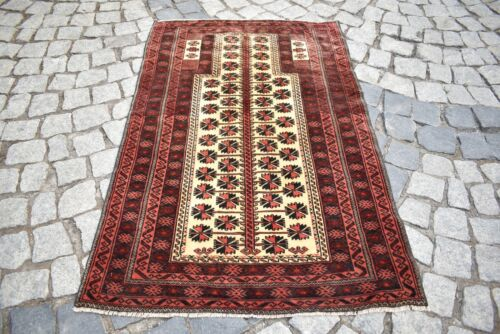 Marvelous Antique Tribal Rug 2'6 x 4'1 ft. Awesome Collectors Item Tribal  Rug
