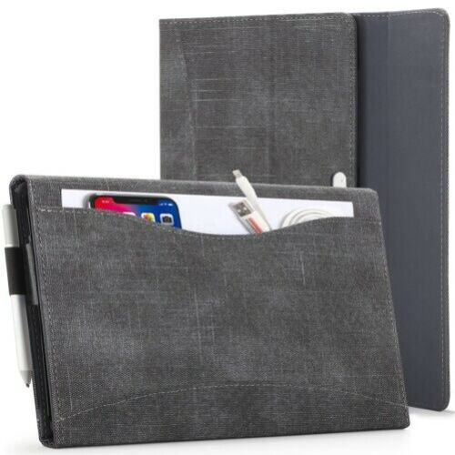 Microsoft Surface Go 2 Case Cover, Protective Stand with Document Pocket