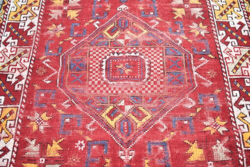 Marvelous Antique Awesome Rug 45'' x 67'' Collectors Piece Anatolian Area Rug
