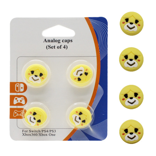 Animal Crossing Thumb Grips For Nintendo Switch PS3/4 XBOX ONE/360 Isabelle