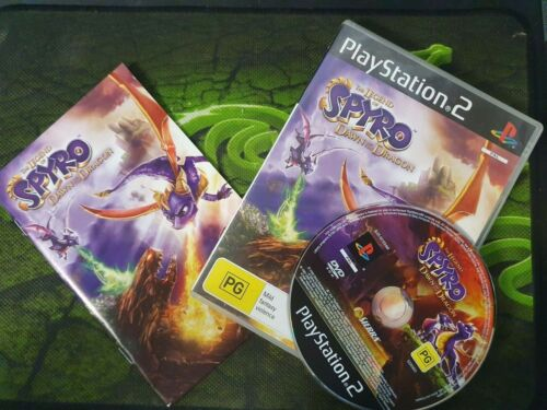 THE LEGEND OF SPYRO DAWN OF THE DRAGON PS2 PlayStation 2 + Manual PAL 🇦🇺 Oz