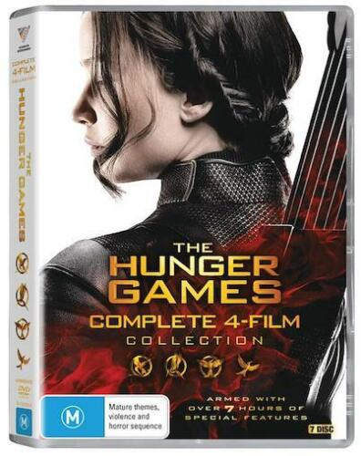 The HUNGER GAMES Complete 4-Film Collection : NEW DVD : Catching Fire Mockingjay