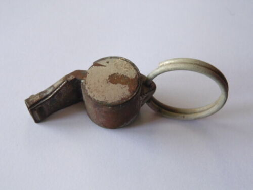 SIFFLET POLICE NATIONALE G.M.R 2ème GM 39-45 WW2 FRENCH POLICE WHISTLE