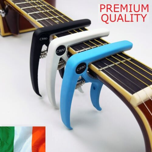 Guitar Capo for Acoustic and Electric Guitars Quick Change Trigger Clamp