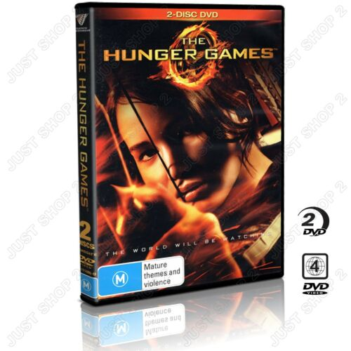 The Hunger Games : 2 Disc Set : Special Features : Brand New