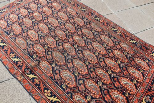 Masterpiece Antique Awesome Rug 2'9'' x 8'3'' ft Collector's Item Caucasian Rug