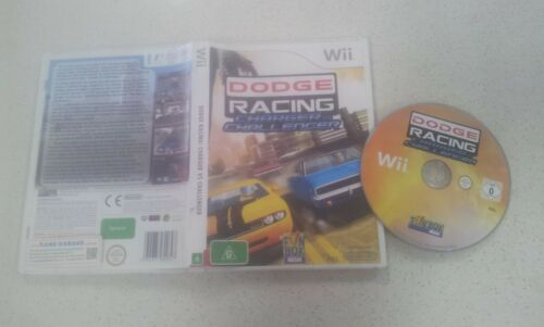 Dodge Racing: Charger Vs Challenger Wii Game Only Used PAL Region
