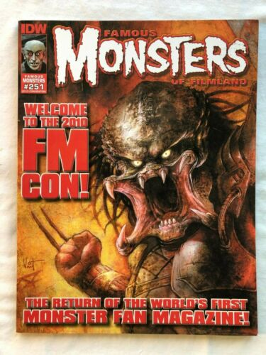 Famous Monsters of Filmland #251 C Cover NM-M Condition 2010 Convention