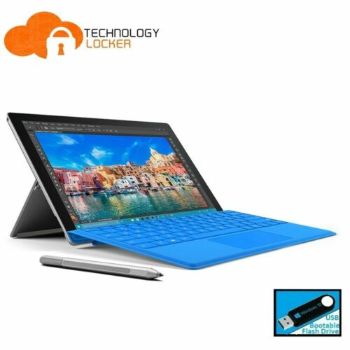 Microsoft Surface Pro 4 Intel i5-6300U @2.40GHz 4GB RAM 128GB SSD Win 10 Tablet
