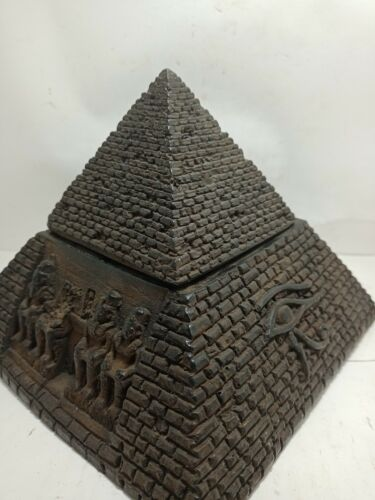 RARE ANTIQUE ANCIENT EGYPTIAN Sphinx Pyramids Eye of Horus Protection 1425 Bc