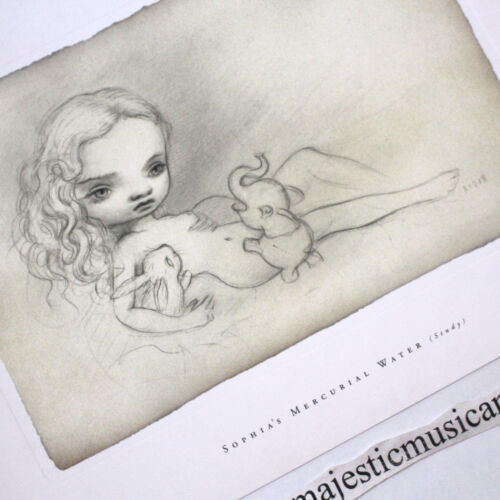MARK RYDEN SOPHIA'S MERCURIAL WATERS STUDY LIMITED EDITION PRINT
