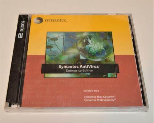 Symantec Antivirus Enterprise Edition Version 10.1 NEW SEALED