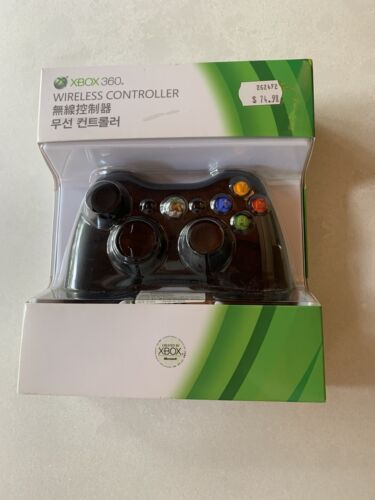 Genuine Microsoft Xbox 360 Wireless Controller (Brand New - Never Been Opened)