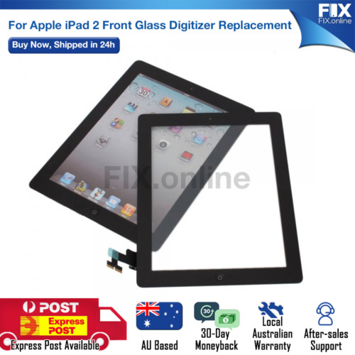 Front Panel Glass Touch Screen Digitizer Replacement for iPad 2 A1395 / 96 / 97