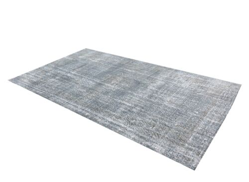 Turkish Vintage - GRAY - Hand Knotted - Bohemian - Living Room - Area OUSHAK Rug
