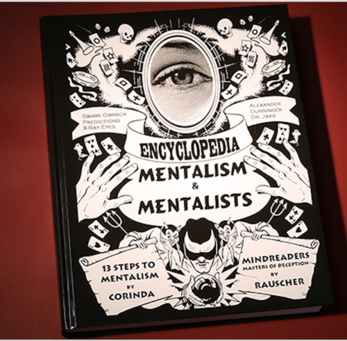 13 Steps to Mentalism PLUS Encyclopedia of Mentalism and Mentalistfrom - Book