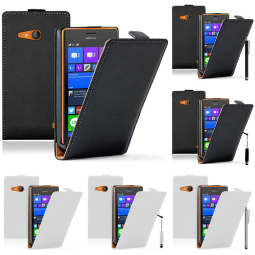Accessories Case Real Leather Protection Serie Nokia Lumia