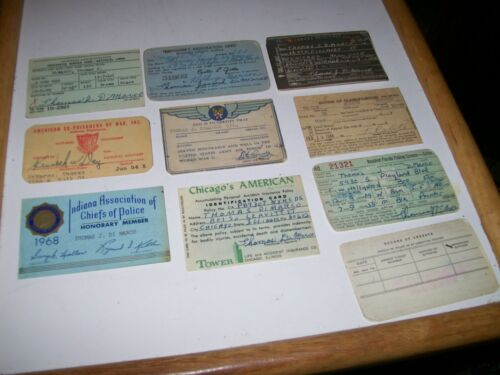 Vtg Prosthetic Service Card 1946 Honorable Discharge Notice of Classification ..Original Period Items - 13981