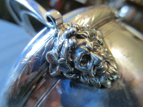 GORHAM BACCHUS Handled BOWL 1869 STERLING SILVER .925 NEOCLASSICAL NO MONO 645