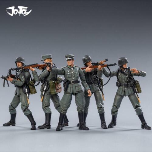 ⚫ACTION FIGURES New JOYTOY 1:18 WWII German Wehrmacht Soliders Kid Toys ⭐⭐⭐⭐⭐