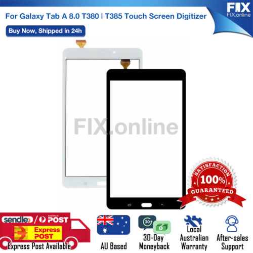 Digitizer Touch Screen for Galaxy Tab A 8.0 T380 T385 / 10.1 T580 with Tools E