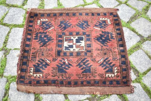 Fabulous Antique Turkish Rug Bag Anatolian Collector's Piece Completely Bag Rug