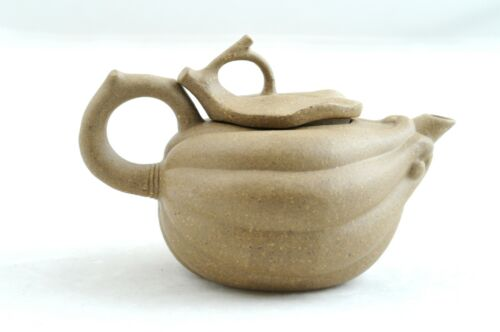 1990s Vintage Chinese yixing purple clay duan Bergamot teapot by Factory #5 殷杏君