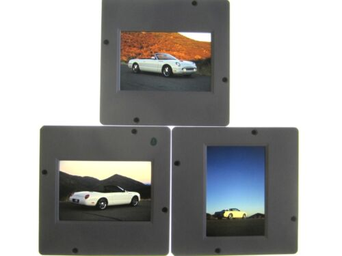 FORD THUNDERBIRD ORIGINAL EDITORIAL SLIDES - 2001