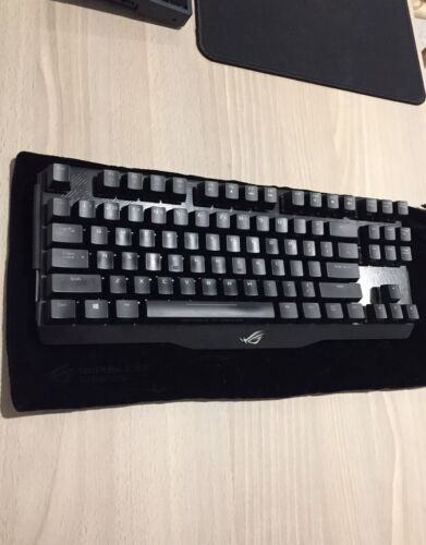 ASUS ROG Claymore Core Cherry MX Red Mechanical Gaming Keyboard Aura Sync
