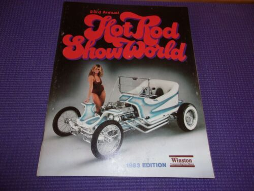 Hot Rod Show World Magazine 1983 23rd ANNUAL BATMOBILE THE OUTLAW RED BARON VAN