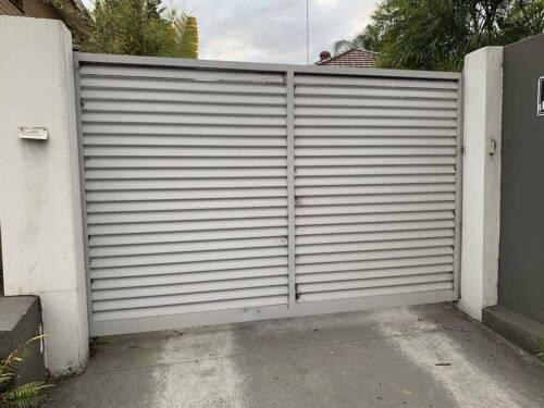 Gate Auto for Driveway Aluminium Powder coated