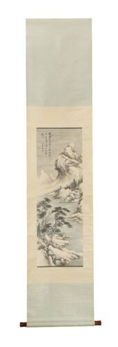 A CHINESE SCROLL PAINTING ATTRIBUTE TO PU XIN YU (4#)
