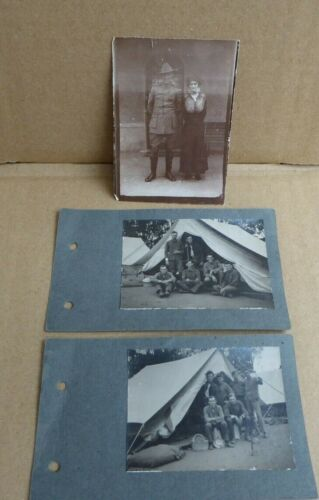 WW1 AIF AUSTRALIAN  3RD LIGHT HORSE AND MITCHAM CAMP PHOTO'S 1914 1914 - 1918 (WWI) - 13962