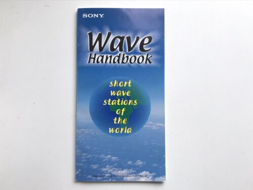 Index SONY Wave Handbook short wave stations of the World 128 pages