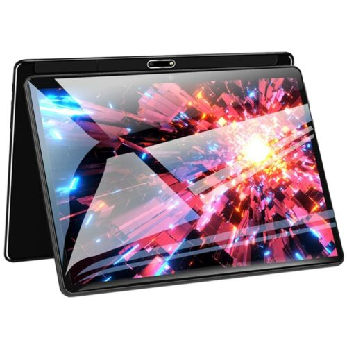 10.1 in 4+64GB WiFi Game Tablet PC 2.5D FHD Screen GPS Dual Camera PC Computer