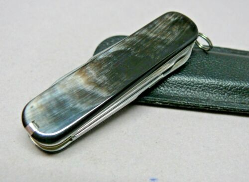 Victorinox 74mm Director / Executive Swiss Army Knife  Horn Scales