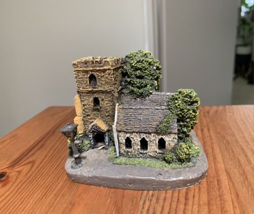 Village Church small building decorator item collectable