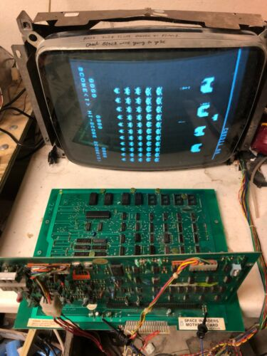 Midway Space Invaders arcade game board set repair service