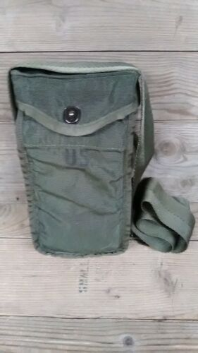 AUTHENTIC LATE POST VIETNAM M1967 GREEN BERET 8 CELL BELT OR SHOULDER BAG POUCHPersonal, Field Gear - 36065