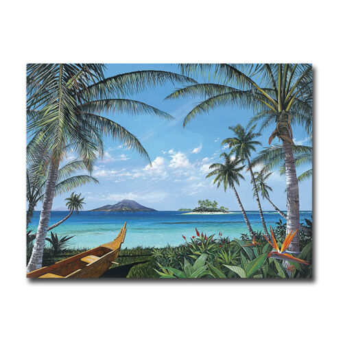Tropic Travels by Westmoreland Gallery-Wrapped Canvas Giclee Art (24 in x 32 in)
