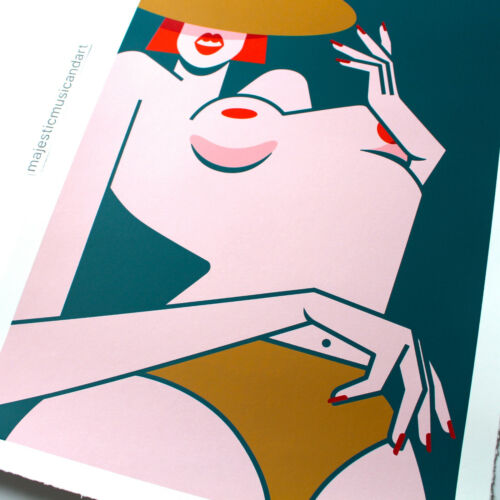 SIGNED & NUMBERED JILLIAN EVELYN ART PRINT LIMITED 75