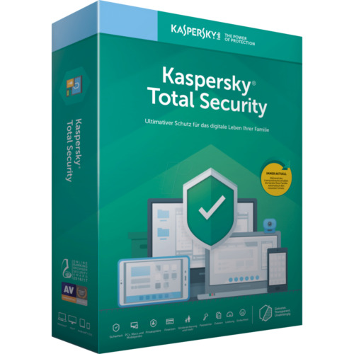Kaspersky Total Security (KTS) OEM (3 Device 1 Year) Supports PC, Mac, & Mobile