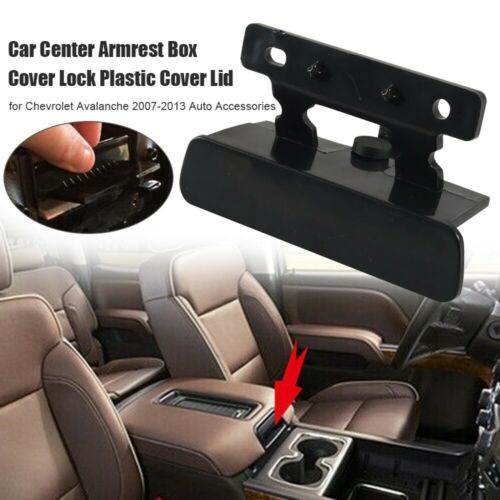 Car Center Armrest Box Cover Lock Plastic Cover Lid for Chevrolet Avalanche ONY