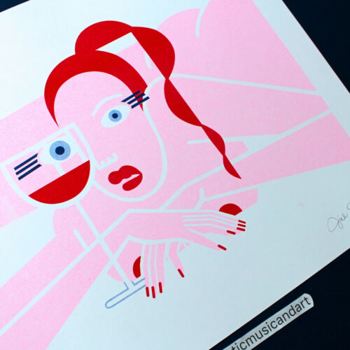 SIGNED & NUMBERED JILLIAN EVELYN ART PRINT LIMITED 100