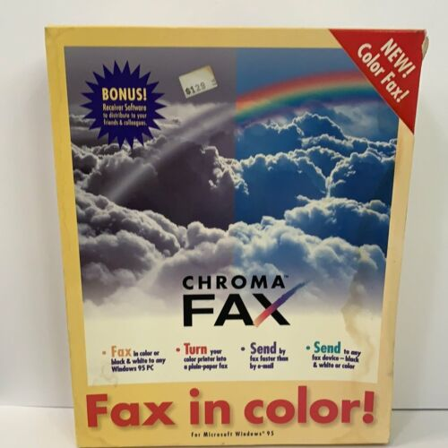 CHROMA FAX sealed for WIND 95 - CD ROM VINTAGE