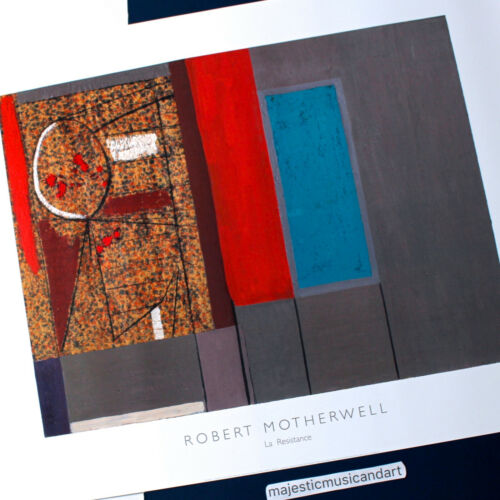 ROBERT MOTHERWELL 2014 POSTER FROM LONDON ENGLAND
